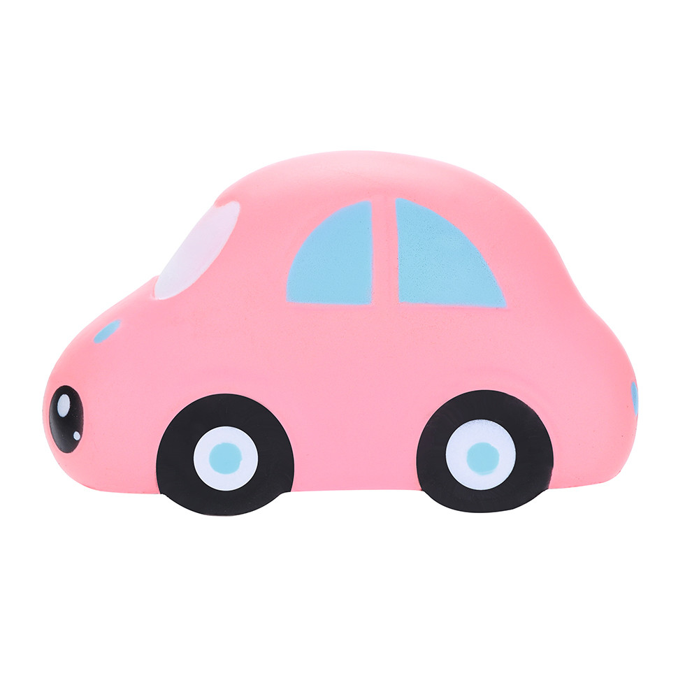 Squishy Jumbo Cute Cartoon Car Decor Slow Rising Kid Squeeze Relieve Anxiet Gift Toys Adult Children Funny Ftoys L108