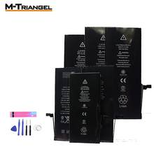 Handy Batterie für iphone 5 iphone 6 iphone 7 batterie Ersatz Kompatibel 7plu 8 8plus XS XR SE Lithium- batterie(China)