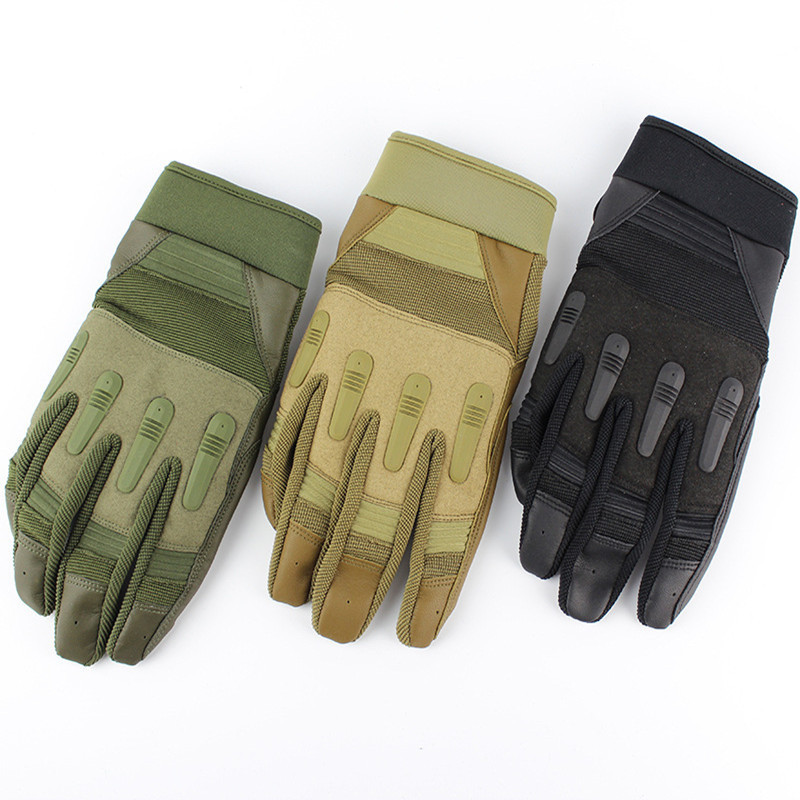 Outdoor Tactical Gloves Bike Cycling All-finger Gloves Special Force Gloves