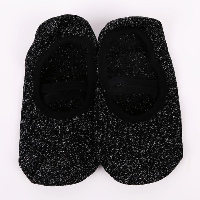 pontos de silicone anti-deslizamento meias chinelos mulheres