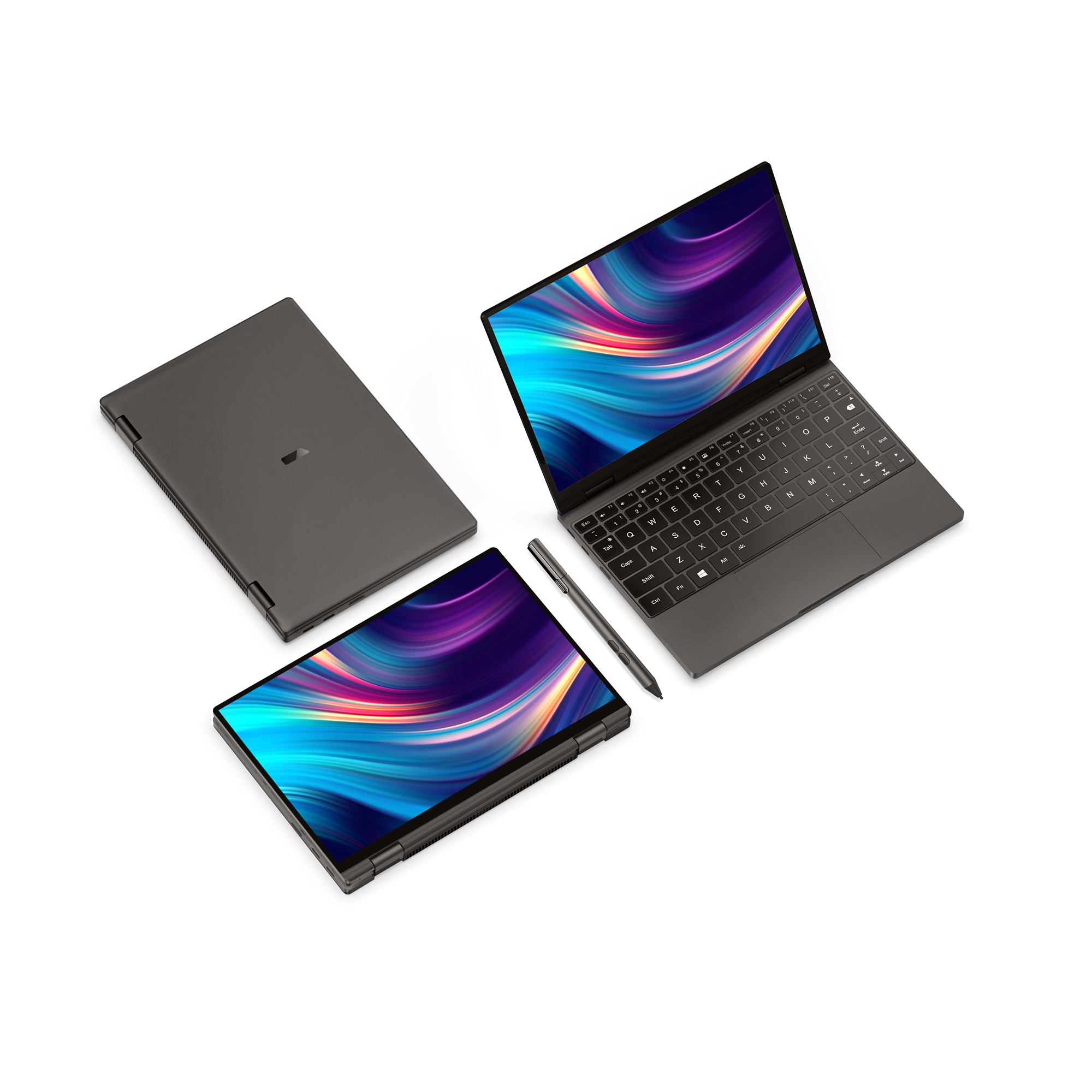 Un Cahier 10.1 Pouces Poche ordinateur portable OneMix4 Platine Netbook i7-1160G7 16G de RAM 1 to SSD IPS Écran TACTILE Windows 10