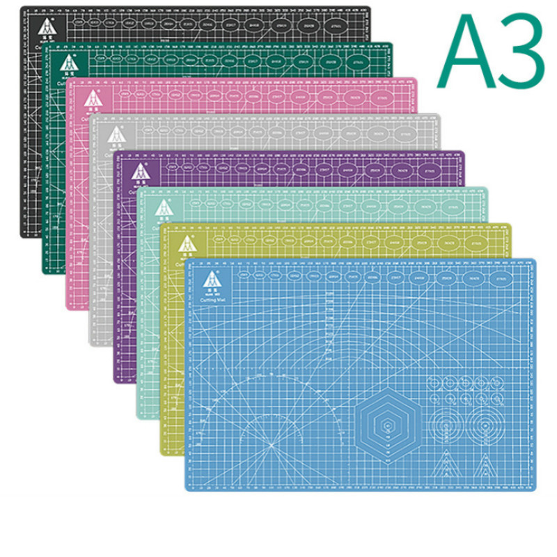 A3 Pvc Cutting Board Mat Patchwork Mat Cutting Mat Patchwork Tool Manual Diy Tool Double-sided Self-healing Engraving Version