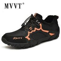 Plus Size 48 Outdoor Men Winter Shoes Super Warm Snow Shoes Men Comfortable Keep Warm Cotton Winter Shoes Walking Man