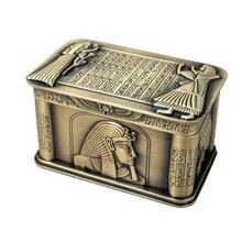 Высококачественная Европейская коробка ювелирных изделий Металлическая