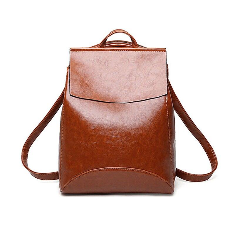 Backpacks Women Fashion Larger Capacity Bag For Women 2019 Black Ladies Backpacks School Bag For Girl