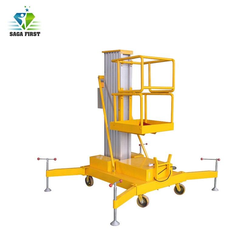 10M High Quality Mobile Vertical Aerial Mast Work Platform