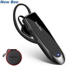 Новинка, Bee Bluetooth гарнитура V5.0, беспроводная гарнитура, наушники 24H, говорящие гарнитуры с шумоподавлением, микрофон для iPhone xiaomi