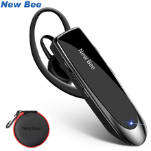 Nouveau casque Bluetooth abeille V5.0 écouteurs mains libres sans fil 24H casques parlants avec micro antibruit pour iPhone xiaomi