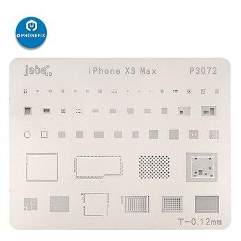 Jabe BGA Reballing Stencil Template For IPhone XR XS XSMAX For HDD/WIFI/Audio IC/BT/Baseband/EEPROM IC BGA Rework Reballing