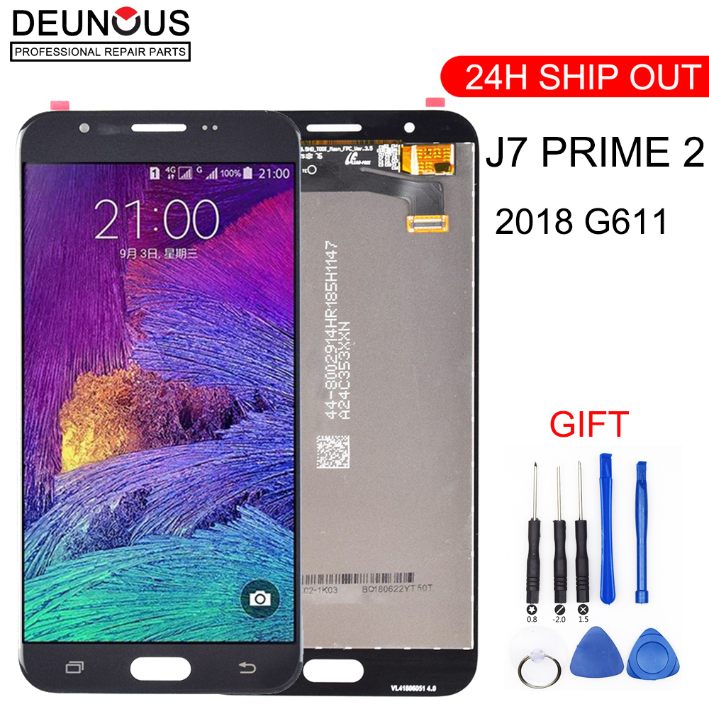 <font><b>J7</b></font> Prime <font><b>2018</b></font> G611 LCD Replacement For <font><b>Samsung</b></font> <font><b>Galaxy</b></font> <font><b>J7</b></font> Prime 2 <font><b>2018</b></font> G611 G611F LCD <font><b>Display</b></font> Touch Screen Digitizer Assembly image