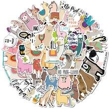 Animal-Sticker Laptop Llama Camel Skateboard Decals Notebook Scrapbook Cartoon Kawaii