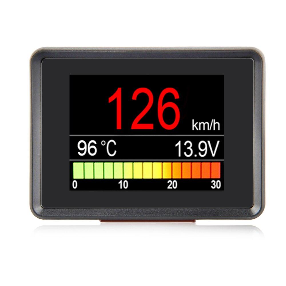 A203 OBD compteur de vitesse carburant ordinateur affichage consommation compteur jauge de température Automobile ordinateur de bord voiture numérique OBD2