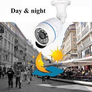 Image 3 - Überwachung Kameras 720P 1080P 4,0 MP AHD Kamera Im Freien Wasserdichte Kugel Kameras Tag & Nacht Überwachung HD 3,6mm Objektiv IR CUT