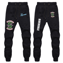 Riverdale Pants Fashion Mens Gym Cotton Long Trousers Sweatpants Casual Sports