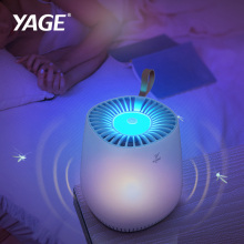 YAGE USB Mosquito Killer Lamp Trap LED Insect Trap UV Killing Lamp Anti Mosquito Housefly Flying Trap Bug Zapper Repellent Light