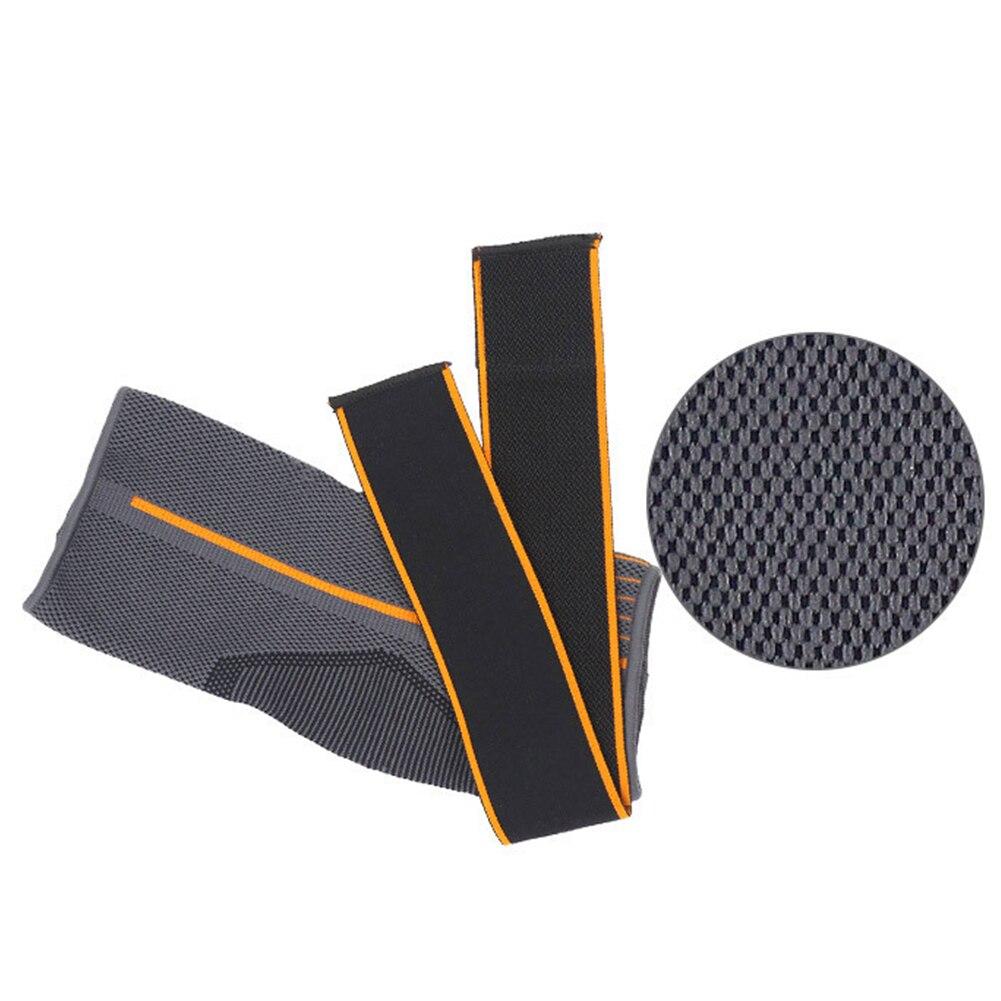 1pc Sprain Prevention Protector Running Brace Sports Nylon Warm Ankle Support Strap Elastic Basketball Magic Sticker Gym Striped