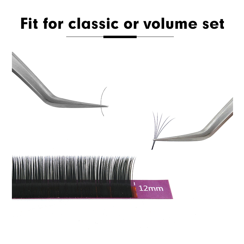 Image 3 - Genielash 10pcs classic individual lashes extensions hybridlashes Mink Eyelash Extension Russian volume eyelashes False Eyelash-in False Eyelashes from Beauty & Health
