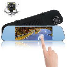 7 дюймовый видеорегистратор dvr hd матовое зеркало заднего вида