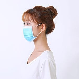 Image 3 - 100pcs Mouth Masks Anti Dust Face Mask Disposable Mask Filter 3 layers Anti Dust Meltblown Cloth Masks Earloops Protective Mask