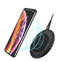 FLOVEME Qi Wireless Charger For Samsung 10w Fast Charger Wireless Charging Pad For Iphone Xiaomi Mi Huawei Wireless Mobile Phone