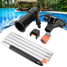 Swimming Pool Vacuum Jet 5 Pole Outdoor Portable Cleaning Hoover Suction Tool Accessories Spa. Pond. Fountain.Lightweight
