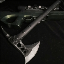 Camping Axe Outdoor Stainless-Steel Multifunctional Durable And Hole-Opener Bone-Cutter