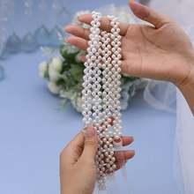 Trixy s34 жемчужные свадебные Ремни цвета слоновой кости платье
