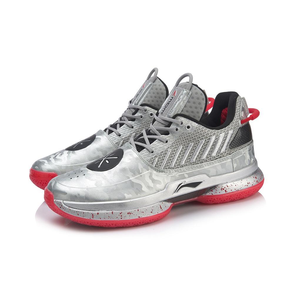 Image 5 - Li Ning Men WOW 7 VETERAN Basketball Shoes wayofwade 7 CUSHION wow7 LiNing li ning CLOUD BOUNSE+ Sport Shoes ABAN079  XYL212Basketball Shoes   -