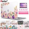 Redlai чехол для MacBook Pro 13 дюймов A2159  жесткий чехол с рисунком для MacBook Air Pro Retina 11 12 13 15 16 A2141 A2179 2020