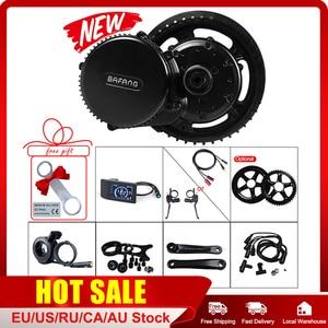 Image 1 - Mid Motor Kits 48V 500W Bafang E BIKE Conversion Crank Drive Brushless Ebike BBS02 BBS02B 8FUN Motor Electric Bicycle Parts