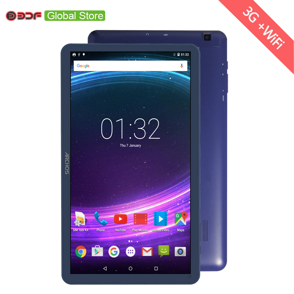 10 Inch 3G Sim Card Phone Call  Android Pc Android 5.1 Tablet Pc Original 1GB+16GB Quad Core Bluetooth WiFi
