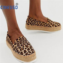 цена на Summer Spring Women Flats 2020 Shoes Slip On Casual Ladies Canvas Shoes Bow Thick Bottom Lazy Loafers Female Espadrilles Flat