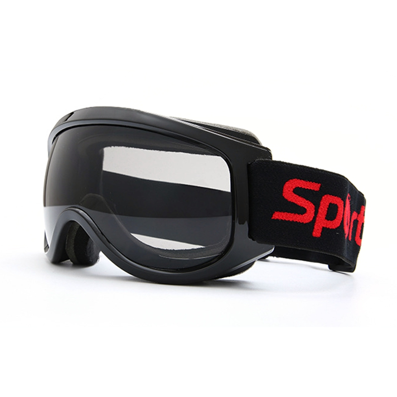 Children's Snow Ski Goggles, Suitable For Boys 8-14 Years Old, Helmet Compatible, Anti-Fog Double Lens, Anti-Slip Tape