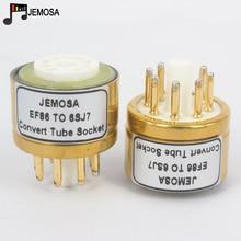 1 шт. E80F EF86 до 6SJ7 6J8P 6SH7 5693 717A 6Ж8C DIY HIFI звуковая вакуумная трубка, усилитель, преобразователь, розетка, адаптер, Бесплатная доставка