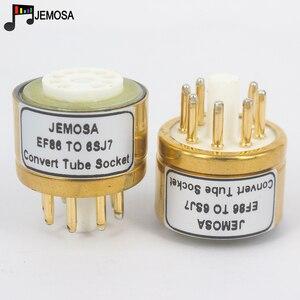 Image 1 - 1PC E80F EF86 TO 6SJ7 6J8P 6SH7 5693 717A 6Ж8C DIY HIFI Audio หลอดสูญญากาศเครื่องขยายเสียงแปลงอะแดปเตอร์ซ็อกเก็ตจัดส่งฟรี