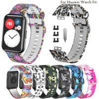 BEHUA-Correa de silicona deportiva para reloj Huawei, accesorios originales para pulsera inteligente, con herramienta