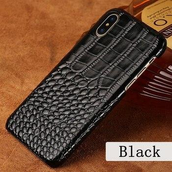 Высококачественный Роскошный чехол кобура с крокодиловым узором для мобильного телефона iPhone 11 Pro X S Max XR 7 8 Plus 6 6s чехол
