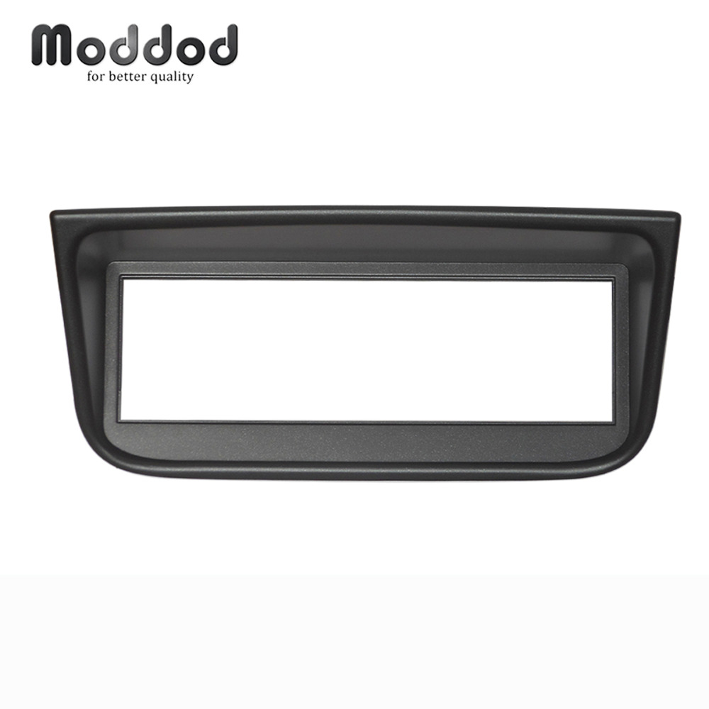One Din Radio fascia <font><b>for</b></font> <font><b>PEUGEOT</b></font> <font><b>406</b></font> Stereo <font><b>GPS</b></font> DVD Stereo Dashboard Panel Dash Audio Fascia Mount Installation Trim Kit Frame image
