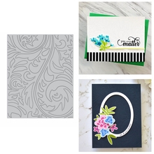 Swirls Flowers Cover Metal Cutting Dies Stencil For DIY Scrapbooking Crafts Paper Cards Making Template Embossing Dies 2020 julyarts 2019 new cow bull metal cutting dies stencil for diy scrapbooking stamps dies embossing paper cards making crafts dies