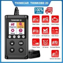 THINKCAR ThinkOBD 20 OBD2 Automotive Scanner Engine Diagnostic Tool OBD 2 Code Reader Auto Scanner Tool OBD PK CR5001 CR3001