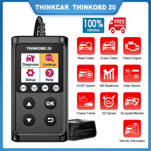 THINKCAR ThinkOBD 20 OBD2 자동차 스캐너 엔진 진단 도구 OBD 2 코드 리더 자동 스캐너 도구 OBD PK CR5001 CR3001