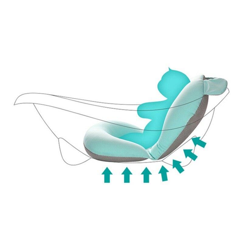 dobrável banheira do bebê almofada & cadeira