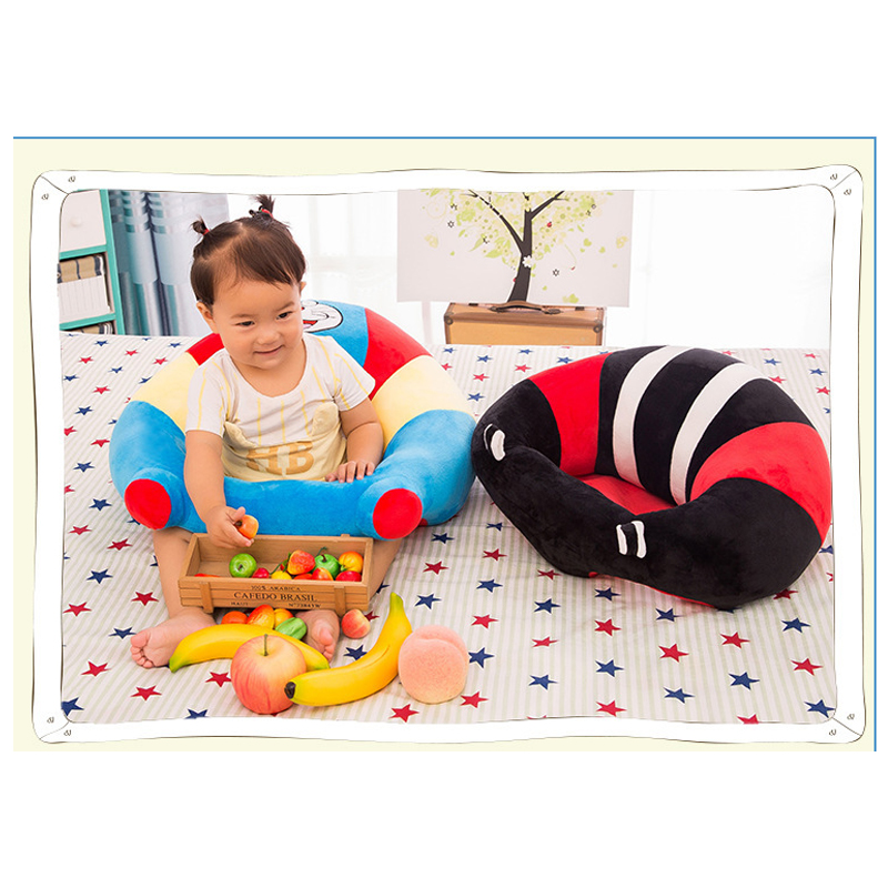 Baby Chair Sofa Suppor Child/baby Seat Plush Toy Kid Learning To Sit Chair Infant Cushion Pad Mat Seat Assembly Seats sofa