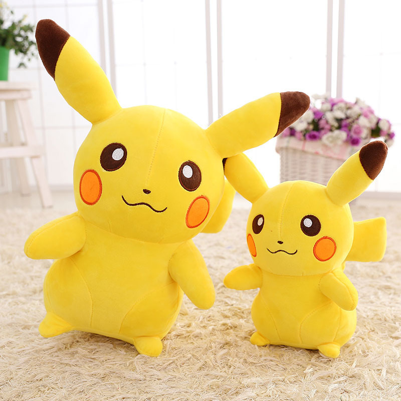 Pokemon Pikachu Stuffed Dolls 20/35/45cm Cute Pikachu Plush Doll Toys Children Kids Toys Birthday Gift