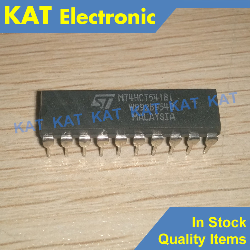 M74HCT541B1 M74HCT541BI M74HCT541 M74HCT541B1R OCTAL BUS BUFFER WITH 3 STATE OUTPUTS (NON INVERTED)