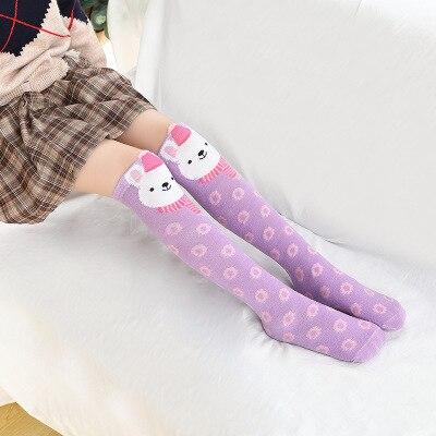 Носки для маленьких девочек; Хлопковые гольфы с изображением лисы; милые Гольфы с рисунком; детская одежда; носки для обуви для малышей; Носки с рисунком