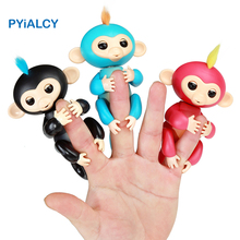 Finger Baby Monkey Electronic Pets Action Figure Fingertip Smart Monkey Interactive Toy Children Holiday Gift Stess Reliever