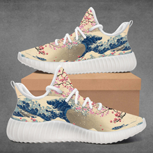 Shoe Sneakers-Design Women for Girs Zapatos Hombre Blossom Youths Custom Cherry Japanese