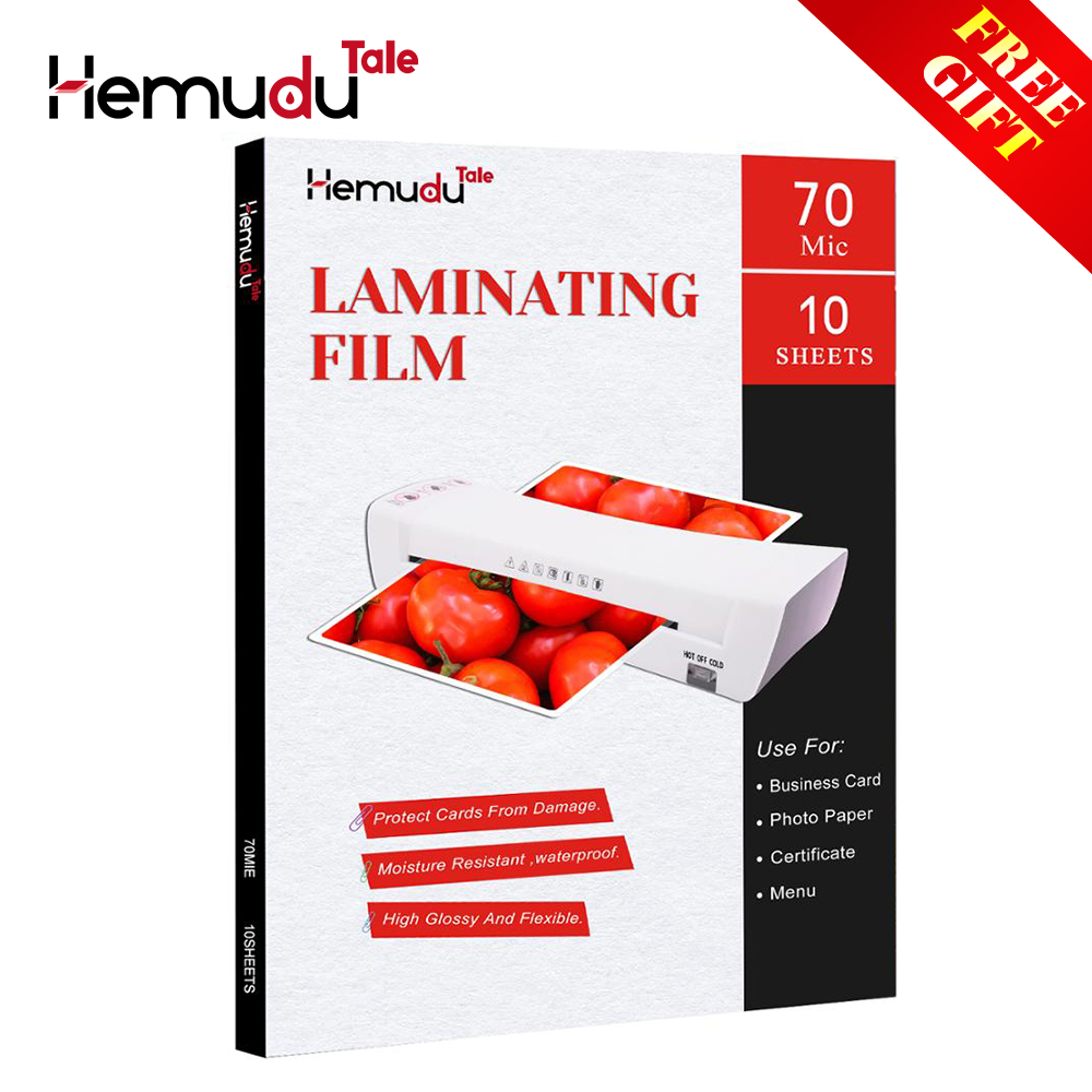A4 70mic Laminating Film PET+EVA for Photo/Files/Card/Picture Lamination roll Film Plastic Film 10 sheets