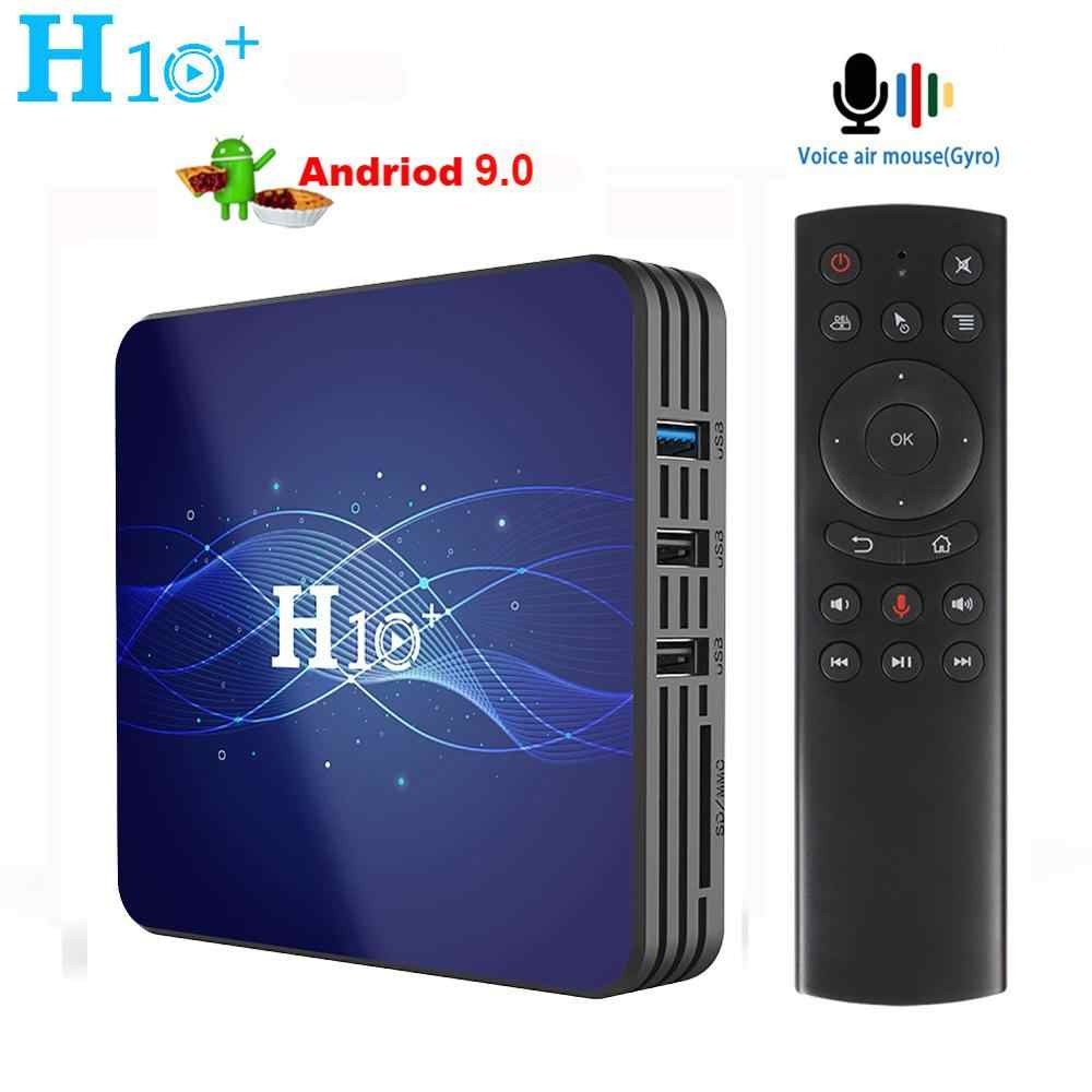 H10 PLUSกล่องทีวีAndroid 9.0 Set Top Box 1GB RAM 8GB ROM Smart TVกล่อง 2.4G 5G WiFi 4K H.265 Netflix YouTube Google Media Player
